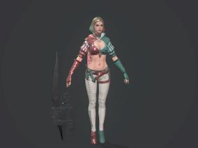 美女,刺客,剑士,黑暗复仇者3