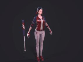 棒球女队员,美女,黑暗复仇者3