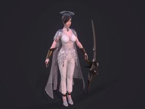 美女剑士,天使,黑暗复仇者3
