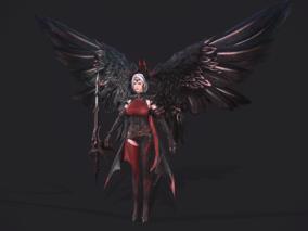 小恶魔天使,美女刺客,黑暗复仇者3