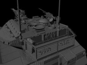 MAYA 装甲坦克