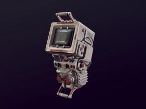 便捷式商场游戏机CG模型