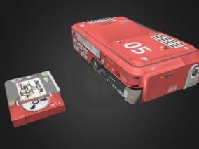 老式VHS播放器FBX模型