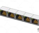 交换机接口  RJ45  水晶接头  网线口