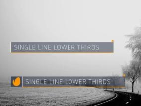 多种 现代风格字幕条 视频模板AE