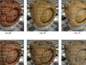 vray材质球室内设计家装VR材质库 vray材质球 3DMAX贴图材质库
