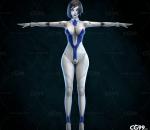 高细节 PBR 马头设 subverse APEX 美女 机械 高跟 长腿 妖娆 科幻 短发 便宜