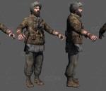 迷彩服 土耳其 异族士兵