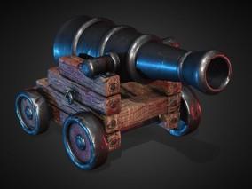 次世代 写实 武器 神威将军炮 火炮 3d模型