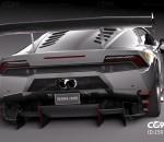 超精细兰博基尼飓风LP620赛车CG模型