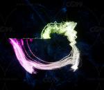 ue4  4.25版本  超酷音轨粒子特效   随着音乐变化 粒子特效 虚幻4