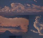 ue4  4.25版本 超强粒子特效蓝图工程 震撼的粒子变化 火焰 龙卷风 水流 特效 虚幻4