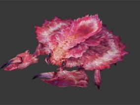 桃花蟹【带骨骼动画】