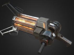 重力炮 3d模型