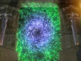 粒子漩涡 魔幻场景 3d模型