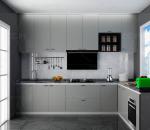 现代L型厨房