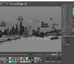 智慧城市 科技城市 城市场景 机械臂动画 汽车结构 数据 三维场景 机器人 人工智能 c4d