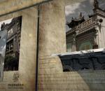 片头历史回顾 复古年代感纪念 历程发展 震撼党建 庆祝辉煌 改革开放 民族团结 C4D照片模板