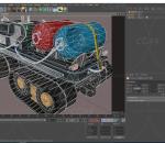火星探测器 履带车 星空作业车 交通工具 太空采矿车 罐车
