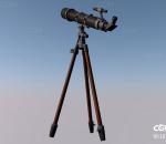 欧式 现代 古董 西方 单筒望远镜 天文台 观天台 观星