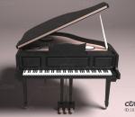 写实钢琴 乐器钢琴 钢琴玩具 钢琴 儿童钢琴 古典三角钢琴 piano 乐器