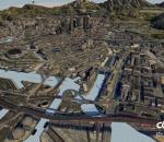 城市沙盘 城市大鸟瞰 城市街道 城市鸟瞰 城市规划 日景鸟瞰 鸟瞰城市 CBD城市中心 国际