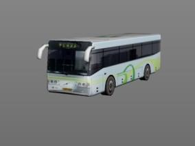 城市公用设施 电子能源巴士 3d模型
