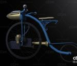 脚踏车 自行车 老式自行车 古董自行车 收藏艺术品 大小轮自行车 大轮 科技自行车 概念自行车 未来
