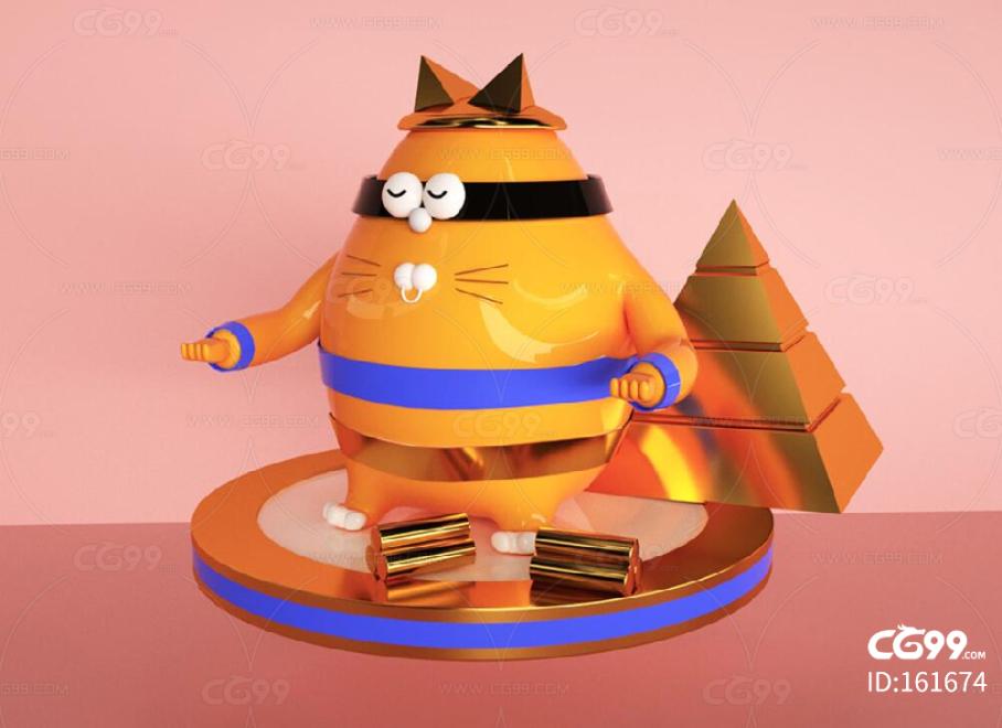 橘猫 忍者猫 胖猫 陶瓷猫 玩具猫 武术猫 猫咪,宠物,卡通猫咪,宠物猫,Q版猫咪 吉祥物 IP