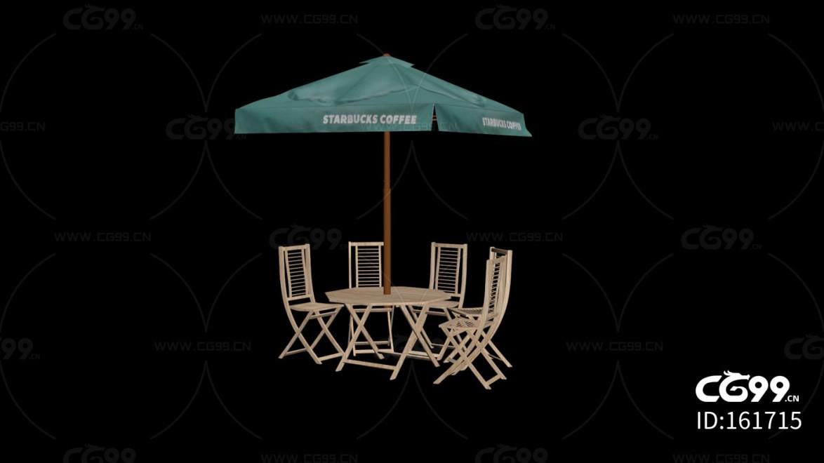 城市公用设施 折叠椅 多人聚餐桌椅