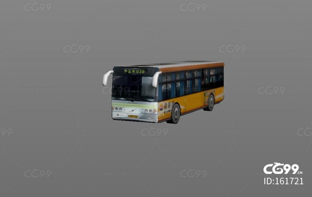 城市公用设施 黄白巴士