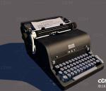 打字机 复古打字机 古式打字机 打字机模型 老式打字机 写实电报机 打印机 欧美打字机