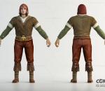 欧洲中世纪男性人物角色 古代欧洲男人 刺客 古代西方人