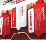 红色2021政府工作报告 党建文化墙