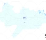沧州市模型 沧州市智慧城市模型 沧州市数字城市模型 沧州市城市规划模型 3D模型简模 效果图鸟瞰