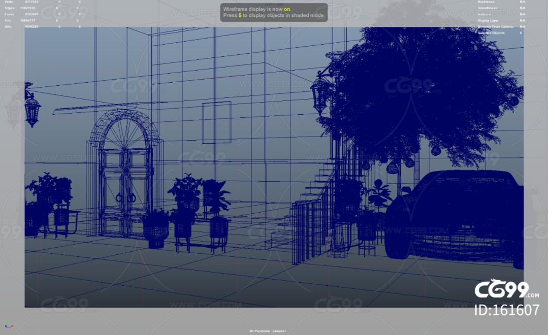 maya制作的阁楼一角,阿诺德渲染器渲染。