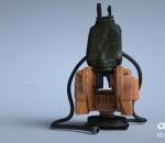 机械臂 操纵器 控制器 工业 流水线 零件 工厂 金属 部件 设备