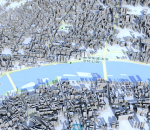 南阳市模型 南阳市智慧城市模型 南阳市数字城市模型 南阳市城市规划模型 3D模型简模 效果图鸟瞰