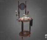 PBR-老旧复古的洗手台 洗脸台