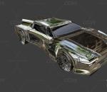次时代科幻轿车 跑车 汽车
