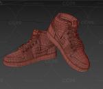 PBR 高品质 耐克 AJ 潮鞋 写实 运动鞋 休闲鞋