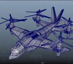 鱼鹰直升机 军用直升机 战斗机 螺旋桨飞机 科幻直升机 未来战斗机 支奴干直升机 运输直升机 重型直
