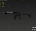 次世代 3D模型 麦克雷自动冲锋枪