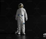 宇航员 宇航服 防护服工人 隔离衣 生化危机 救援工人 连体工作服 隔离服 医院医务