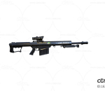 次世代 3D模型 枪 未来 高科技冲锋枪