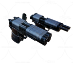 次世代 3D模型 枪 冲锋枪