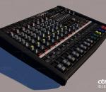 DJ调音台 音频混频器 调音 打碟设备 控制器 音效 音乐控制 简模 晚会