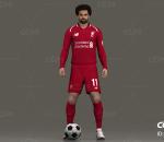 足球运动员 穆罕默德·萨拉赫 足球先生 踢球 体育竞技 职业球员 外国男人