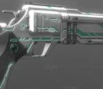 PBR-科幻左轮手枪
