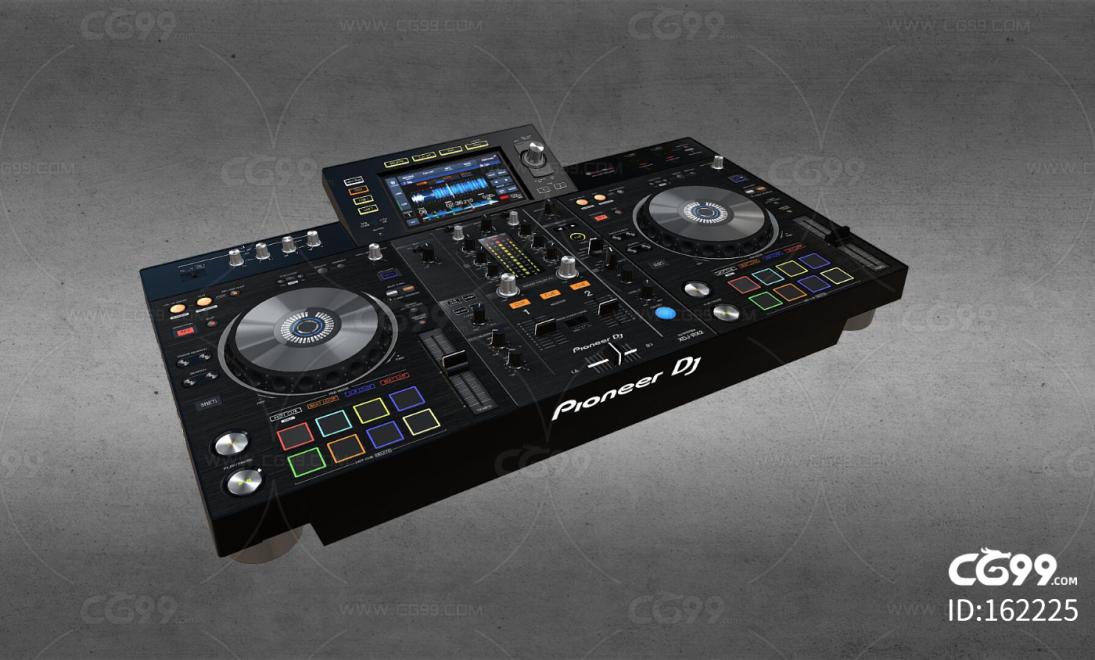 调音台 调音器 DJ 打碟机 电音 仪表盘